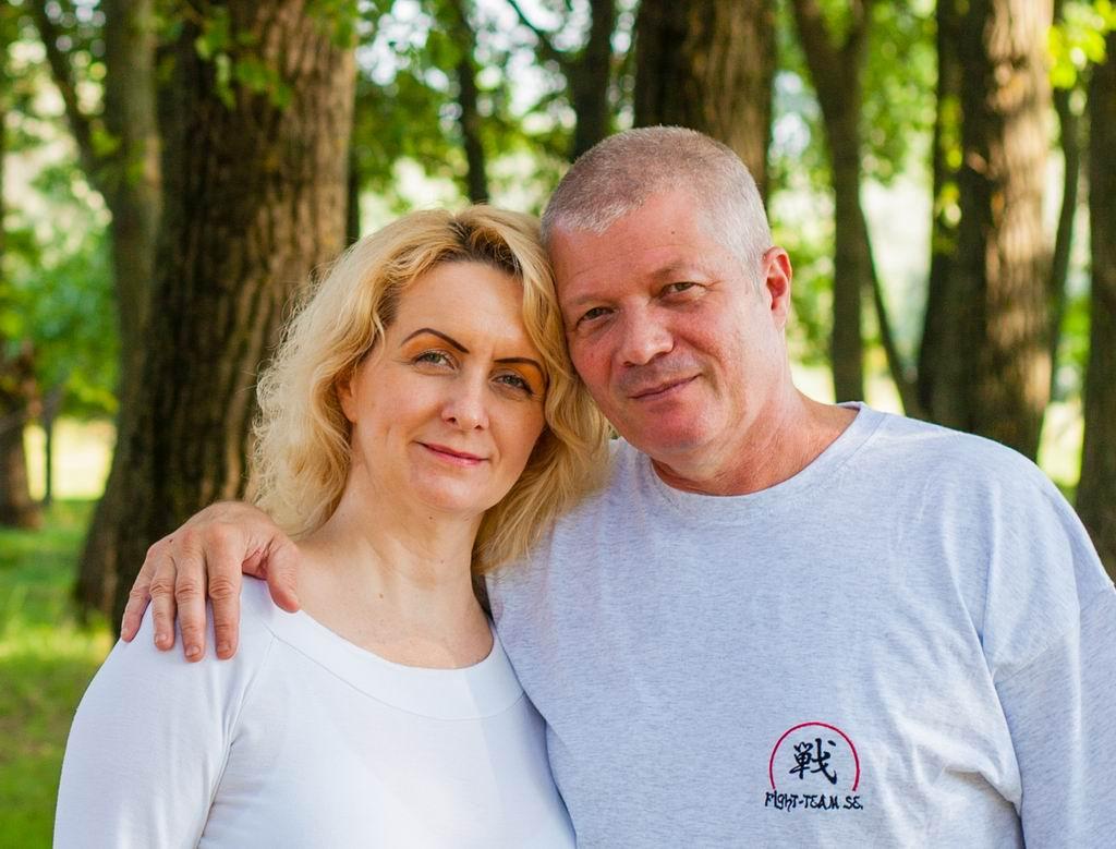 Kazincziné Batta Mónika és Kazinczi Ferenc
