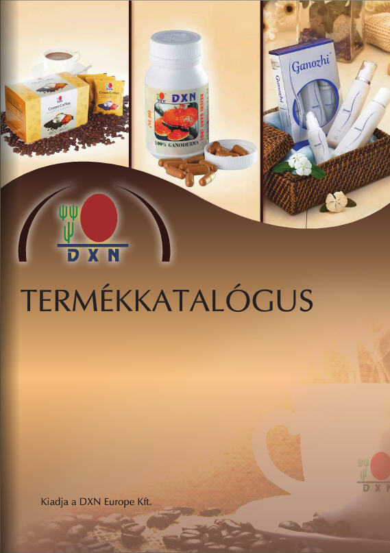 DXN termekkatalogus